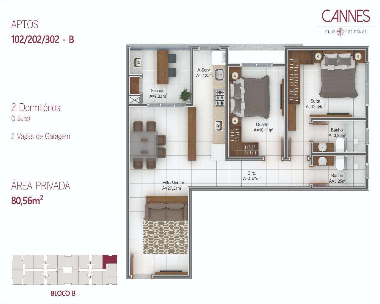 Apartamento com 2 dorms, Ingleses do Rio Vermelho, Florianópolis - R$ 329 mil, Cod: 33961794