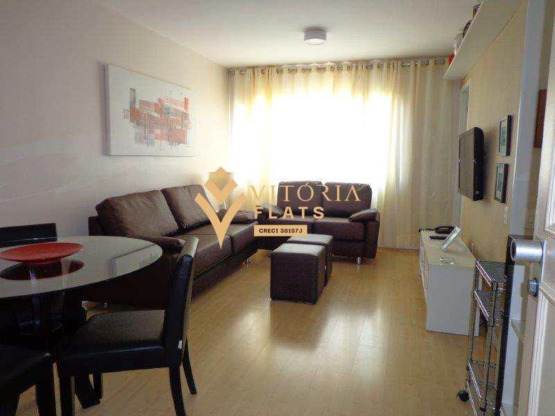 Flat com 1 dormitório para alugar, 42 m² por R$ 2.708/mês - Itaim Bibi - São Paulo/SP