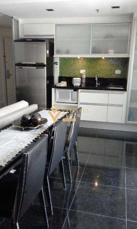 Flat com 1 dormitório para alugar por R$ 3.649/mês - Consolação - São Paulo/SP
