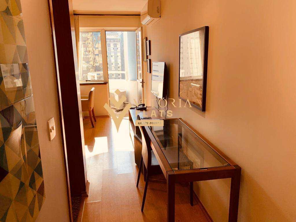 Flat com 1 dormitório para alugar, 40 m² por R$ 2.400/mês - Jardim Paulista - São Paulo/SP