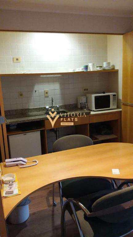 Flat com 1 dormitório para alugar, 30 m² por R$ 1.900/mês - Vila Uberabinha - São Paulo/SP