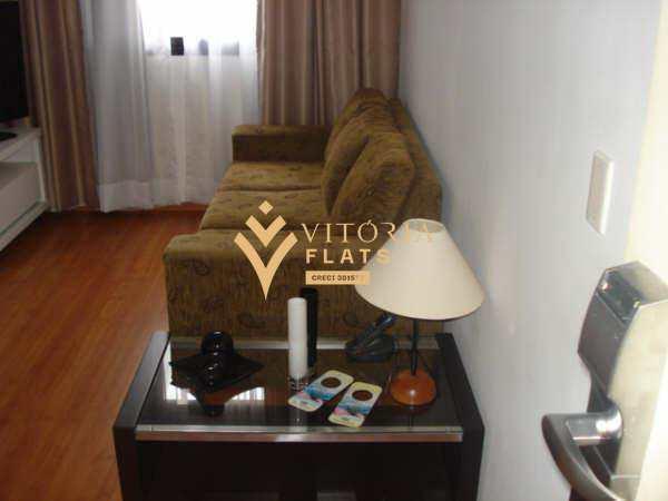 Flat com 1 dorm, Indianópolis, São Paulo - R$ 235 mil, Cod: 64368093