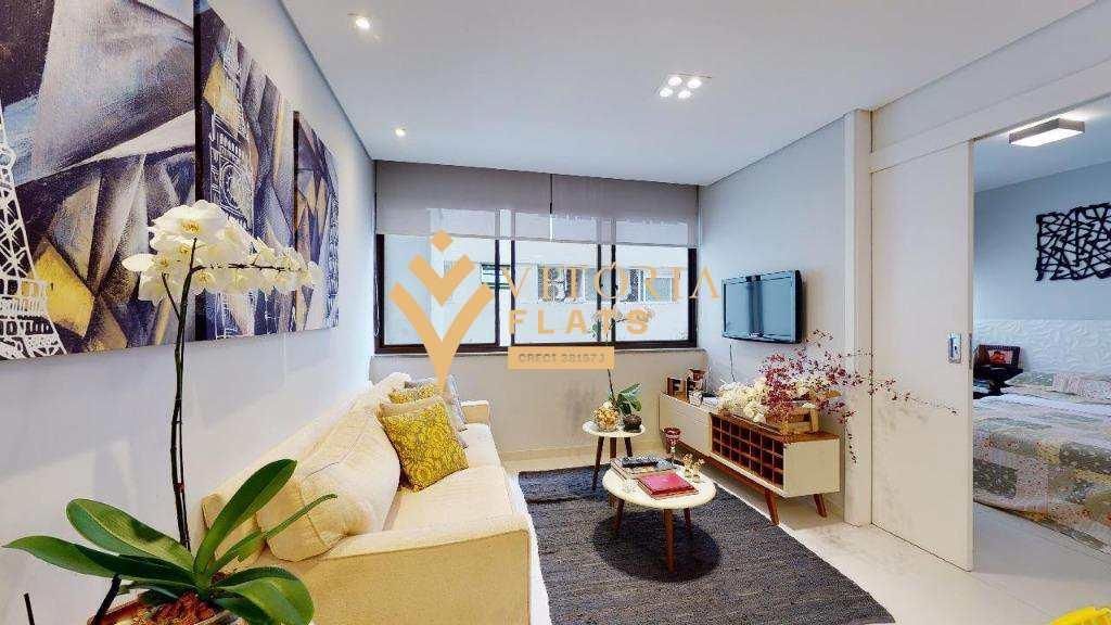 Flat com 1 dormitório à venda, 40 m² por R$ 580.000 - Jardim Paulista - São Paulo/SP