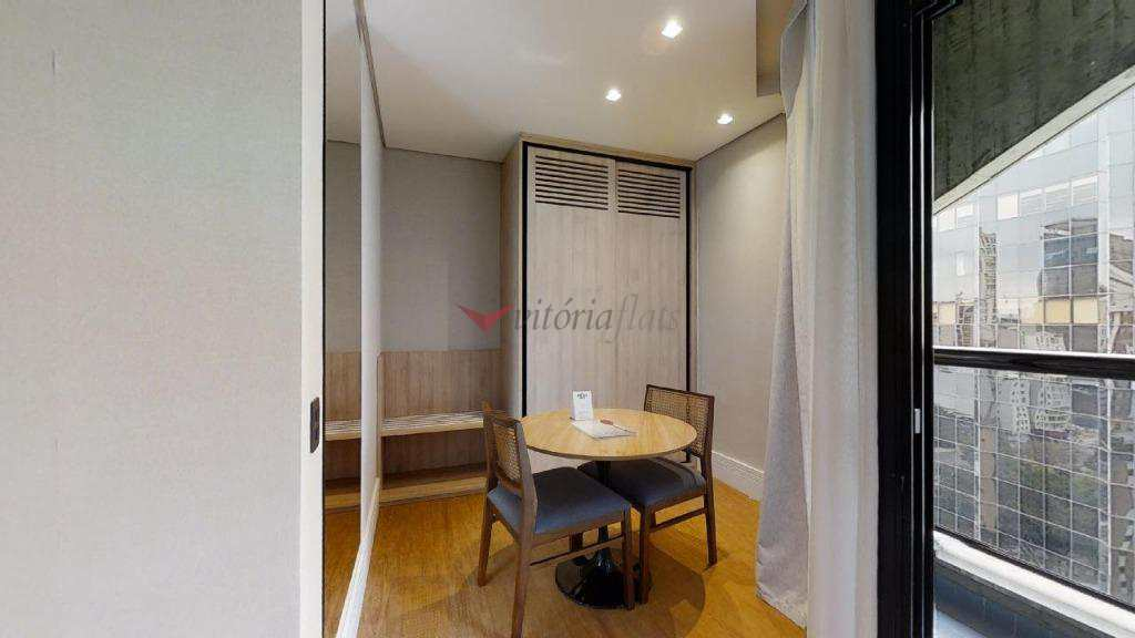 Flat com 1 dormitório à venda, 42 m² no Itaim Bibi/São Paulo