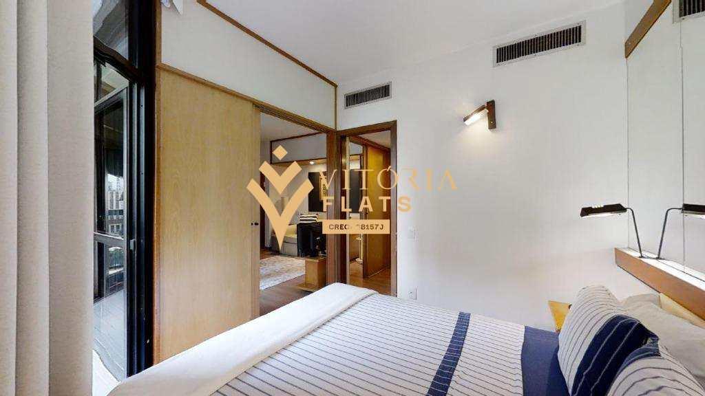 Flat com 1 dormitório no Itaim Bibi/São Paulo