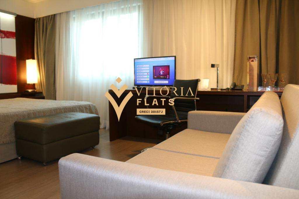 Flat com 1 dorm, Indianópolis, São Paulo, Cod: 64364637