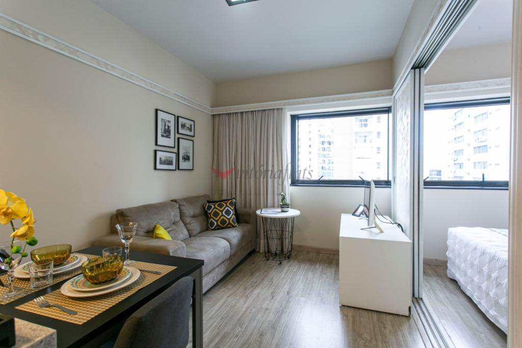 Flat com 1 dorm, Jardim Paulista, São Paulo, Cod: 64352296