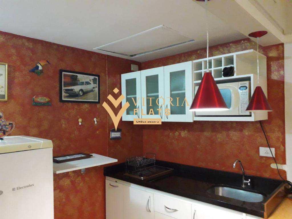 Flat com 1 dormitório para alugar por R$ 1.750,00/mês - Jardim Paulista - São Paulo/SP