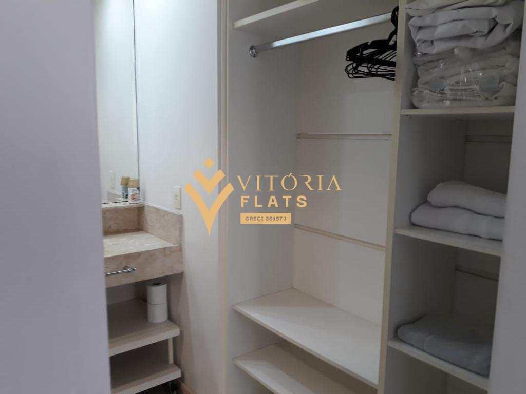 Flat com 1 dormitório para alugar