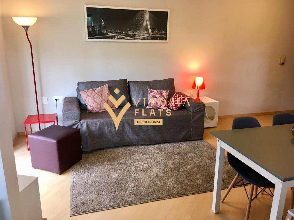 Flat com 1 dormitório para alugar- Bela Vista - São Paulo/SP