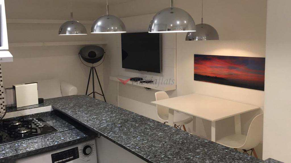 Flat com 1 dormitório para alugar Jardim Paulista - São Paulo/SP