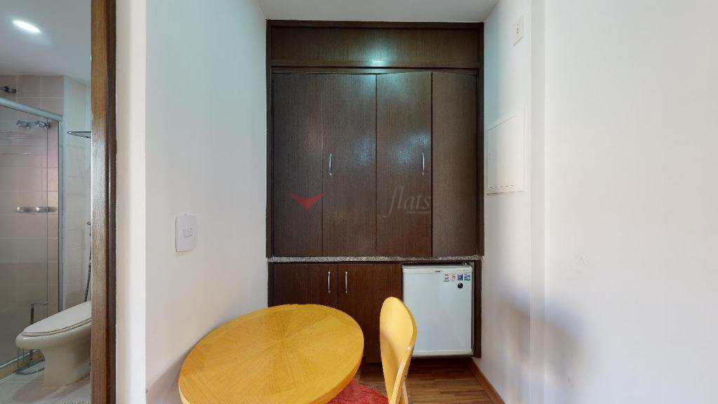 Flat com 1 dormitório- Jardim Paulista - São Paulo/SP