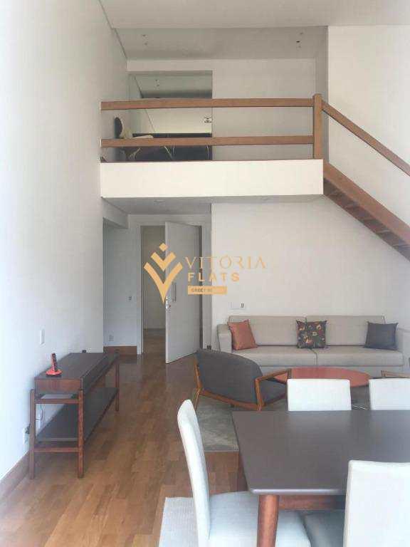 Flat com 2 dormitórios para alugar, 198 m² - Vila Nova Conceição - São Paulo/SP