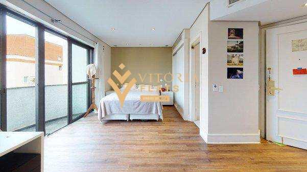 Flat com 1 dorm, Cerqueira César, São Paulo - R$ 424 mil, Cod: 64009033