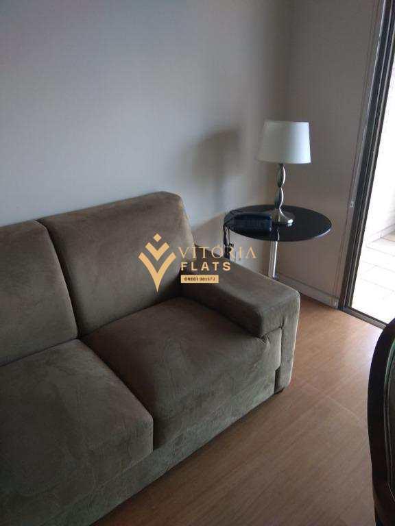 Flat com 1 dormitório para alugar, 52 m² por R$ 4.700,00/mês - Vila Nova Conceição - São Paulo/SP
