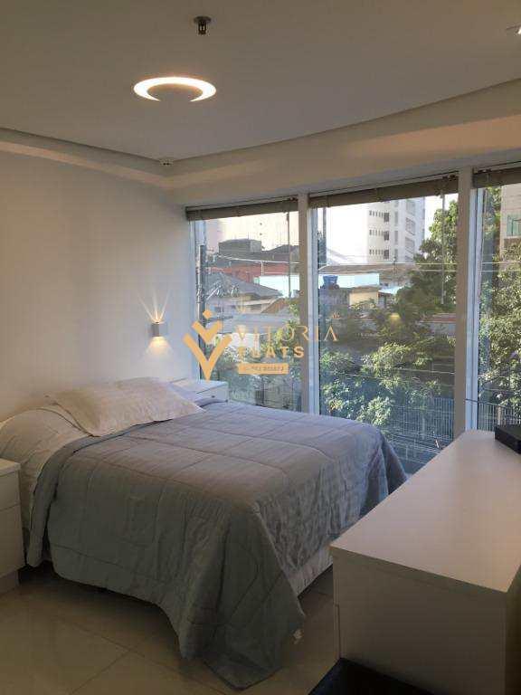 Flat com 1 dormitório para alugar, 32 m² por R$ 2.137/mês - Paraíso - São Paulo/SP