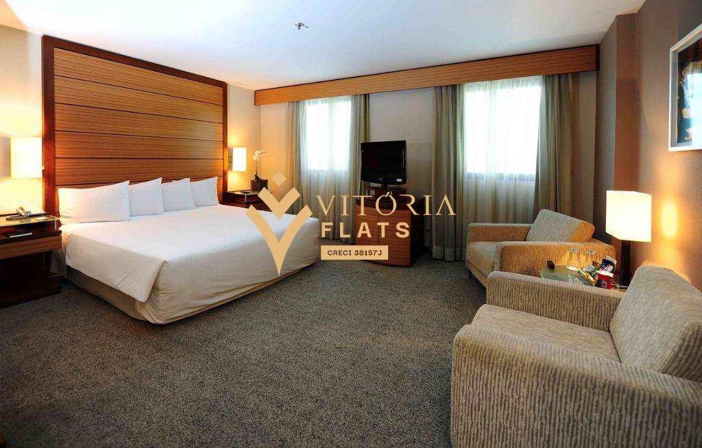 Flat com 1 dorm, Indianópolis, São Paulo - R$ 245 mil, Cod: 60266227