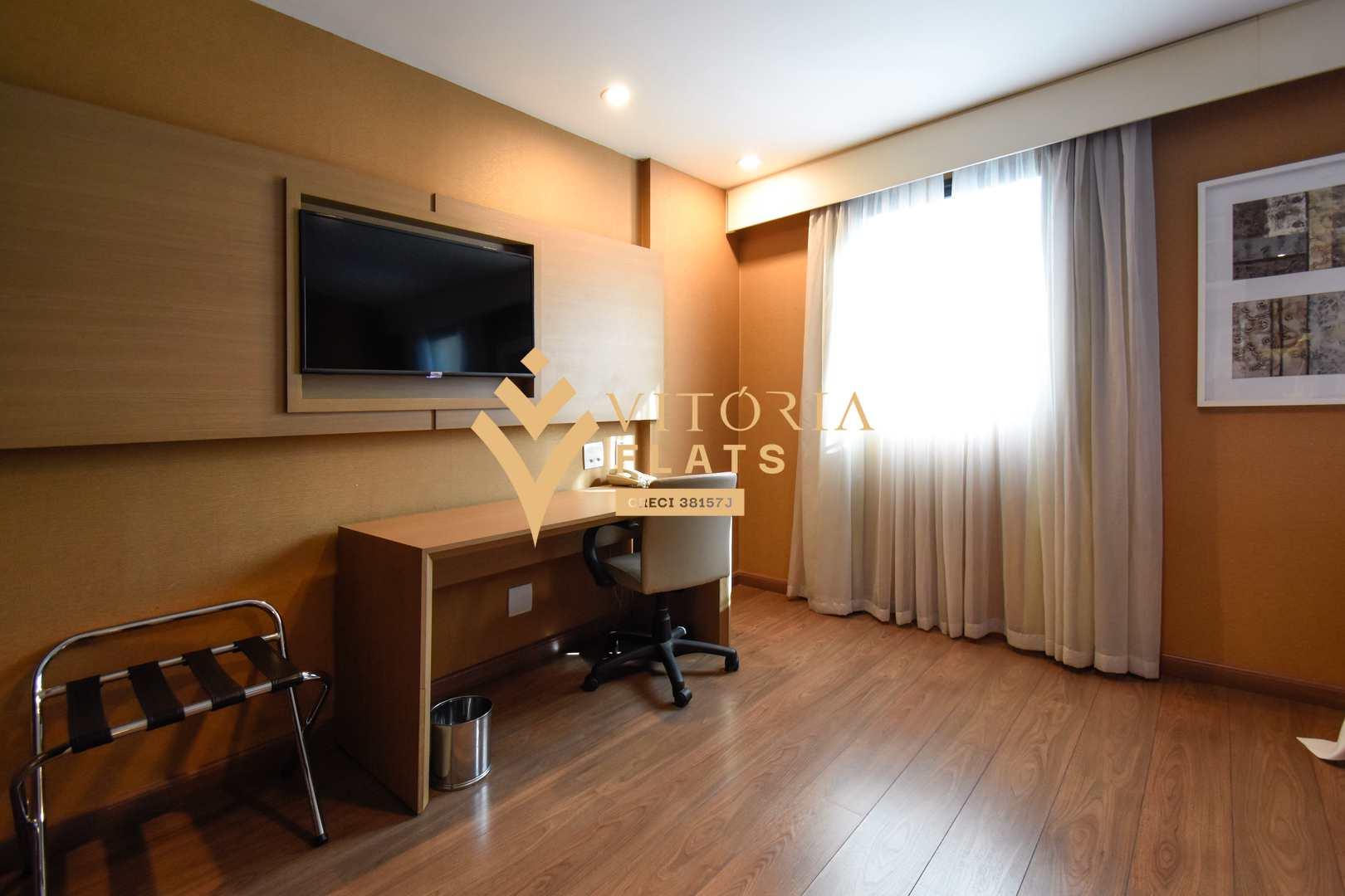 Flat com 1 dorm, Moema, São Paulo - R$ 218 mil, Cod: 60266227