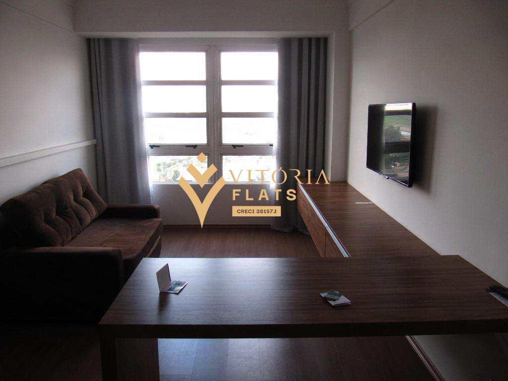 Flat com 1 dorm, Centro, Guarulhos - R$ 202 mil, Cod: 59962189