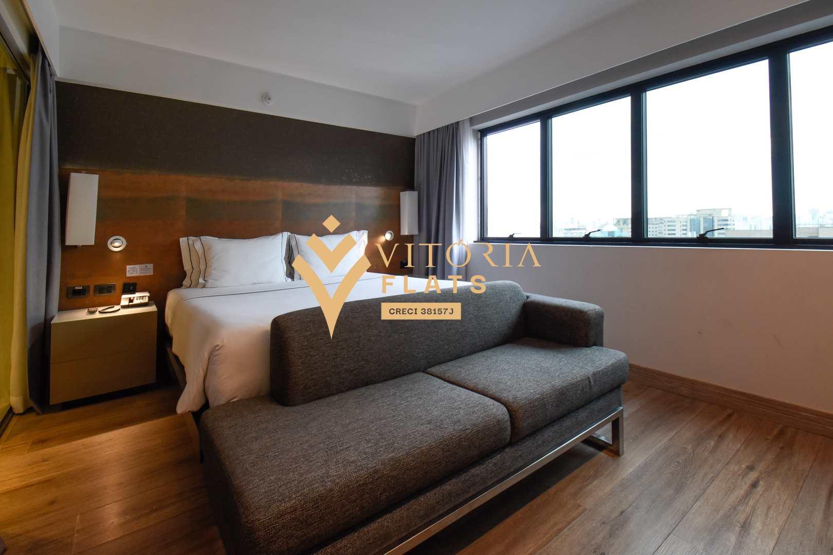 Flat com 1 dorm, Indianópolis, São Paulo - Cod: 58959182