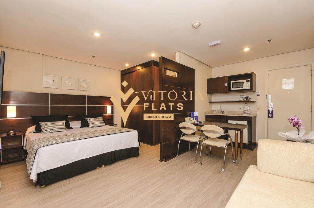 Flat com 1 dorm, Chácara Santo Antônio (Zona Sul), São Paulo - R$ 190 mil, Cod: 55202107