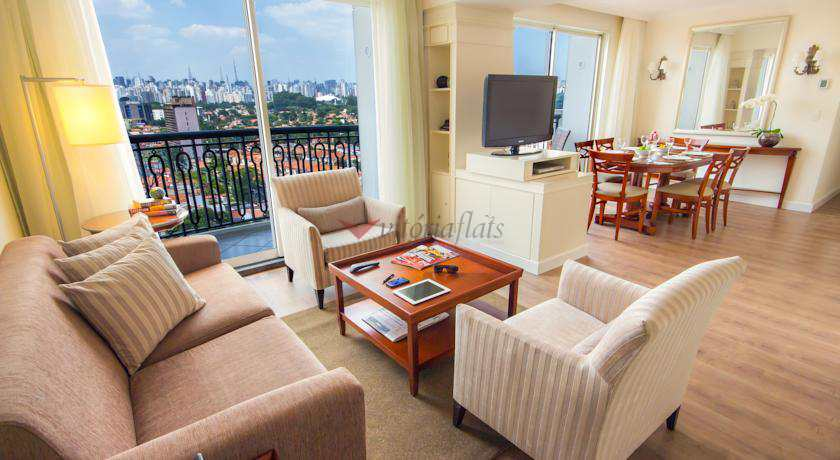 Flat com 1 dorm, Vila Nova Conceição, São Paulo - R$ 415 mil, Cod: 53780247