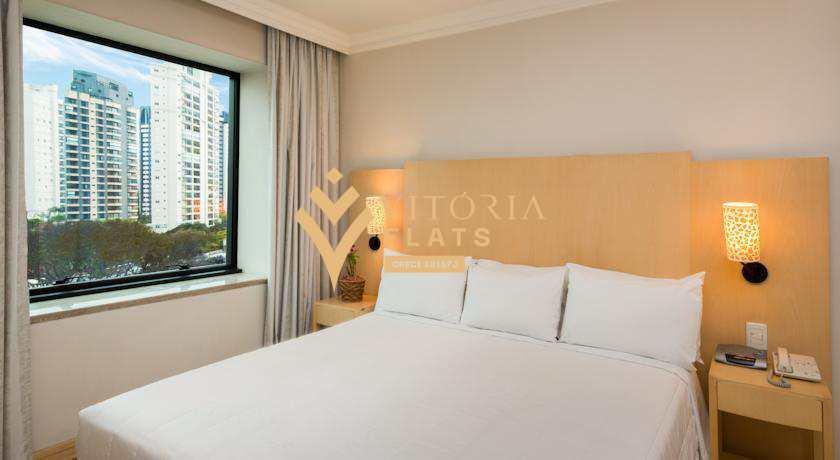 Flat com 1 dorm, Jardim das Acácias, São Paulo - R$ 320 mil, Cod: 53260199