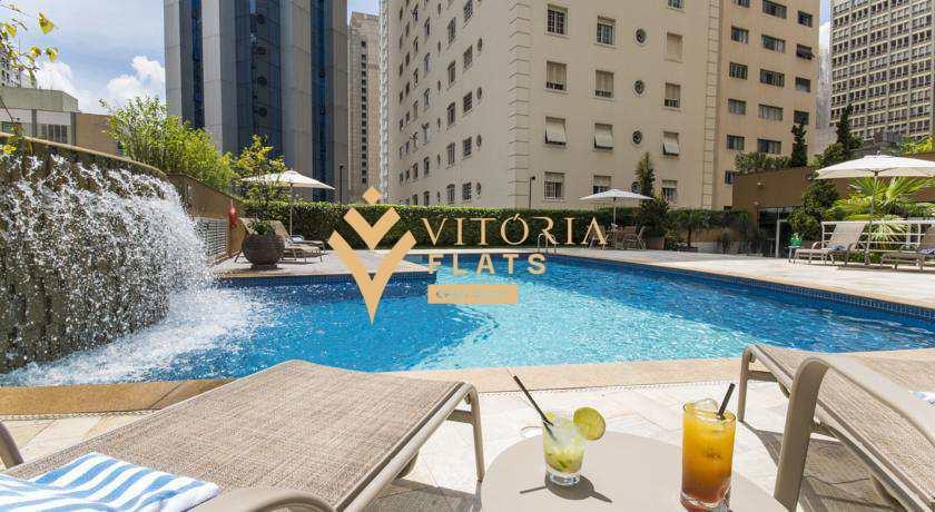 Flat com 1 dorm, Cerqueira César, São Paulo - R$ 426 mil, Cod: 53260081