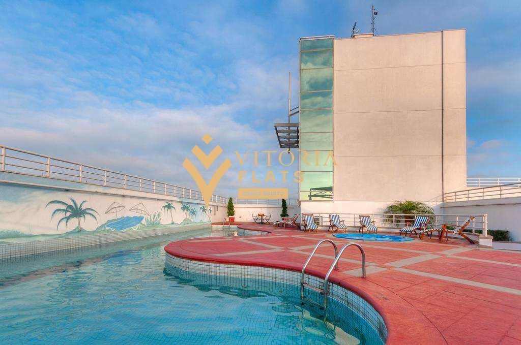 Flat no Pool para investimento em Chácara Santo Antonio