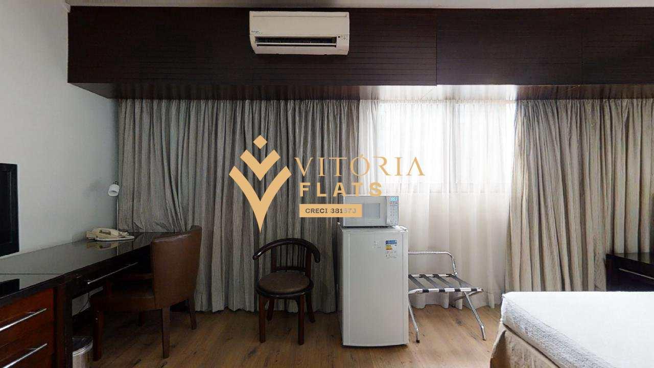 Flat com 1 dorm, Cidade Monções, São Paulo - R$ 260 mil, Cod: 64426467