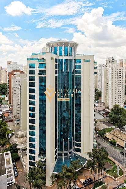 Flat com 1 dorm, Indianópolis, São Paulo, Cod: 64426483