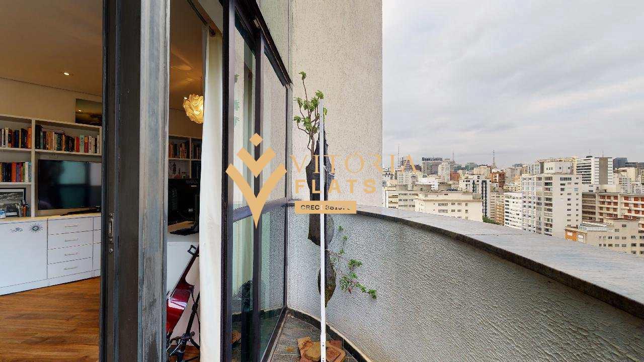 Flat com 1 dorm, Jardim América, São Paulo - R$ 390 mil, Cod: 64426493