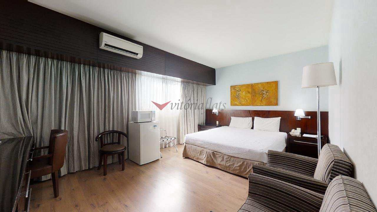 Flat com 1 dorm, Brooklin Novo, São Paulo - R$ 260 mil, Cod: 64426495