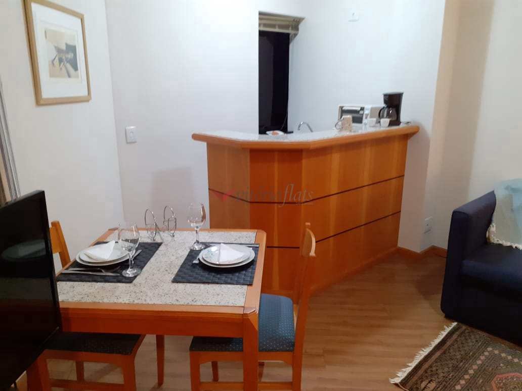 Flat com 1 dorm, Jardim Paulista, São Paulo - R$ 310 mil, Cod: 64426509