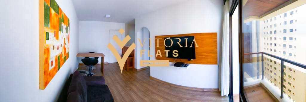 Flat com 1 dorm, Jardim Paulista, São Paulo - R$ 430 mil, Cod: 64445989