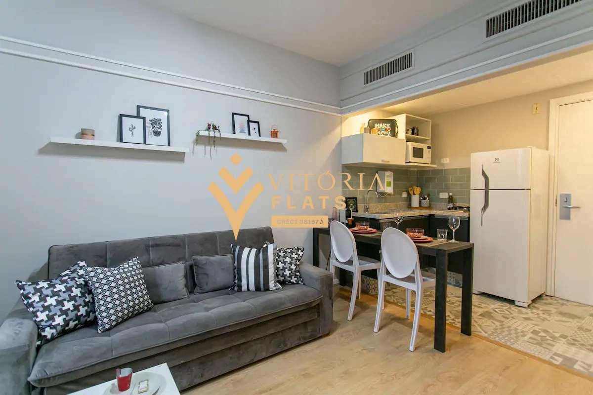 Flat com 1 dorm, Jardim Paulista, São Paulo, Cod: 64443969