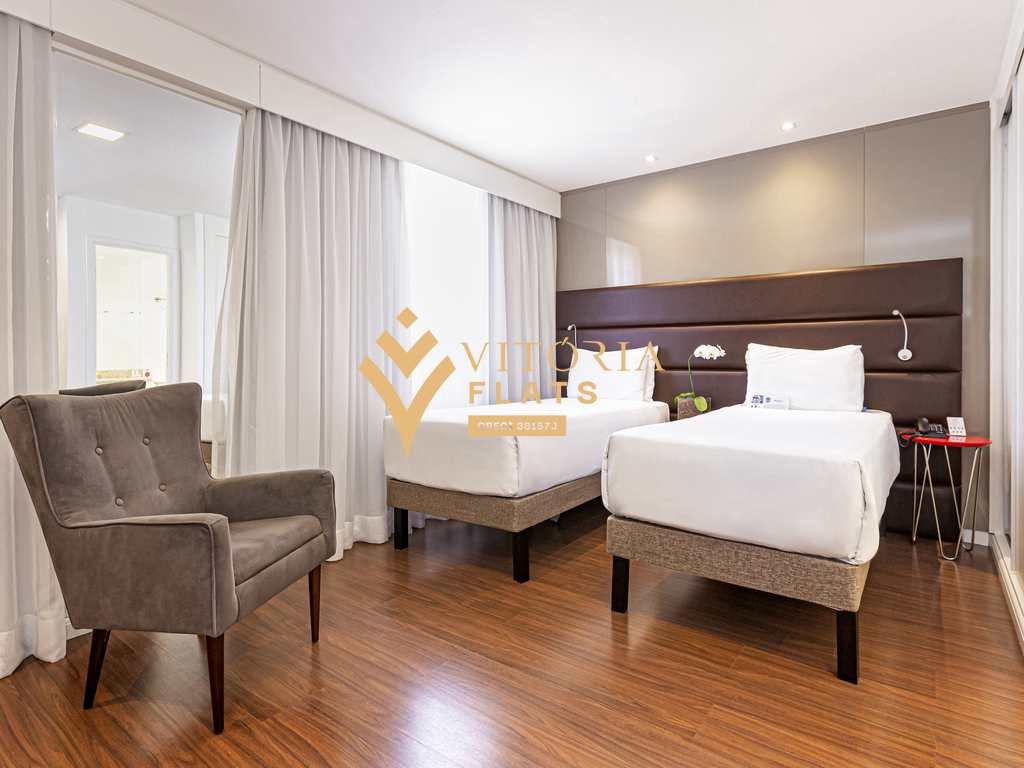 Flat com 1 dorm, Vila Olímpia, São Paulo - Cod: 64438321