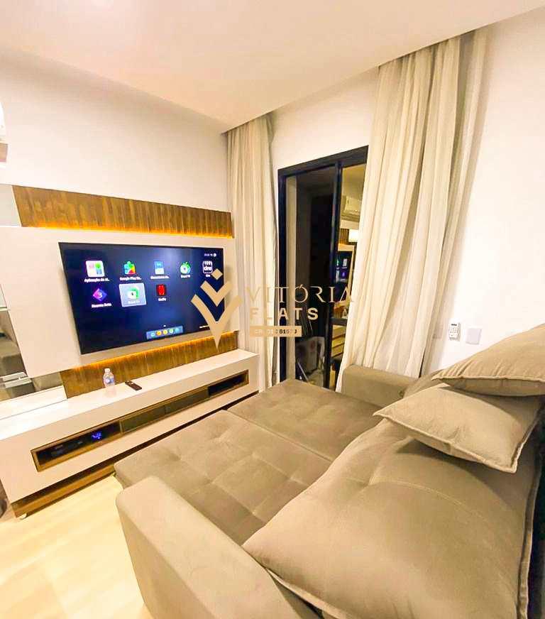 Flat com 1 dorm, Higienópolis, São Paulo - R$ 456 mil, Cod: 64435323