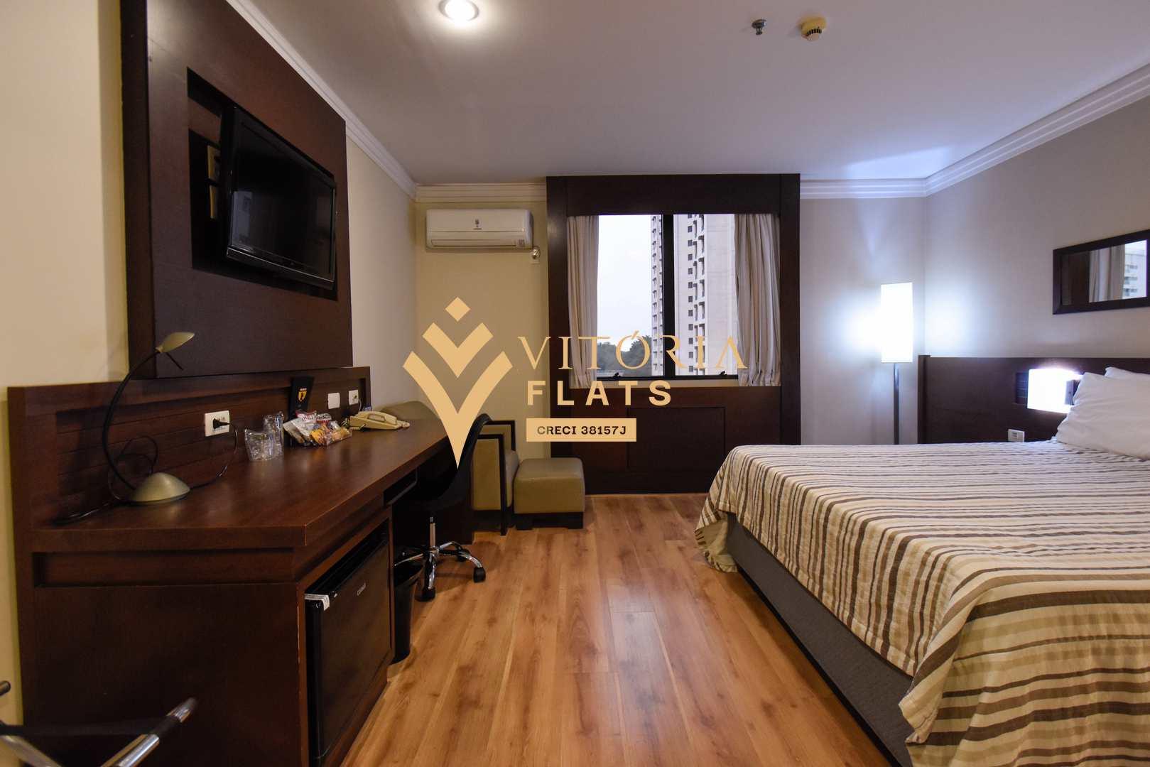 Flat com 1 dorm, Campo Belo, São Paulo - R$ 260 mil, Cod: 64460122