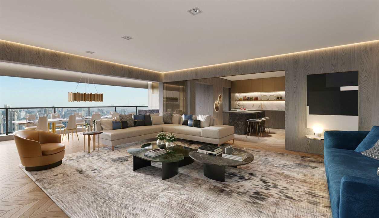 Living Apto 158 m²