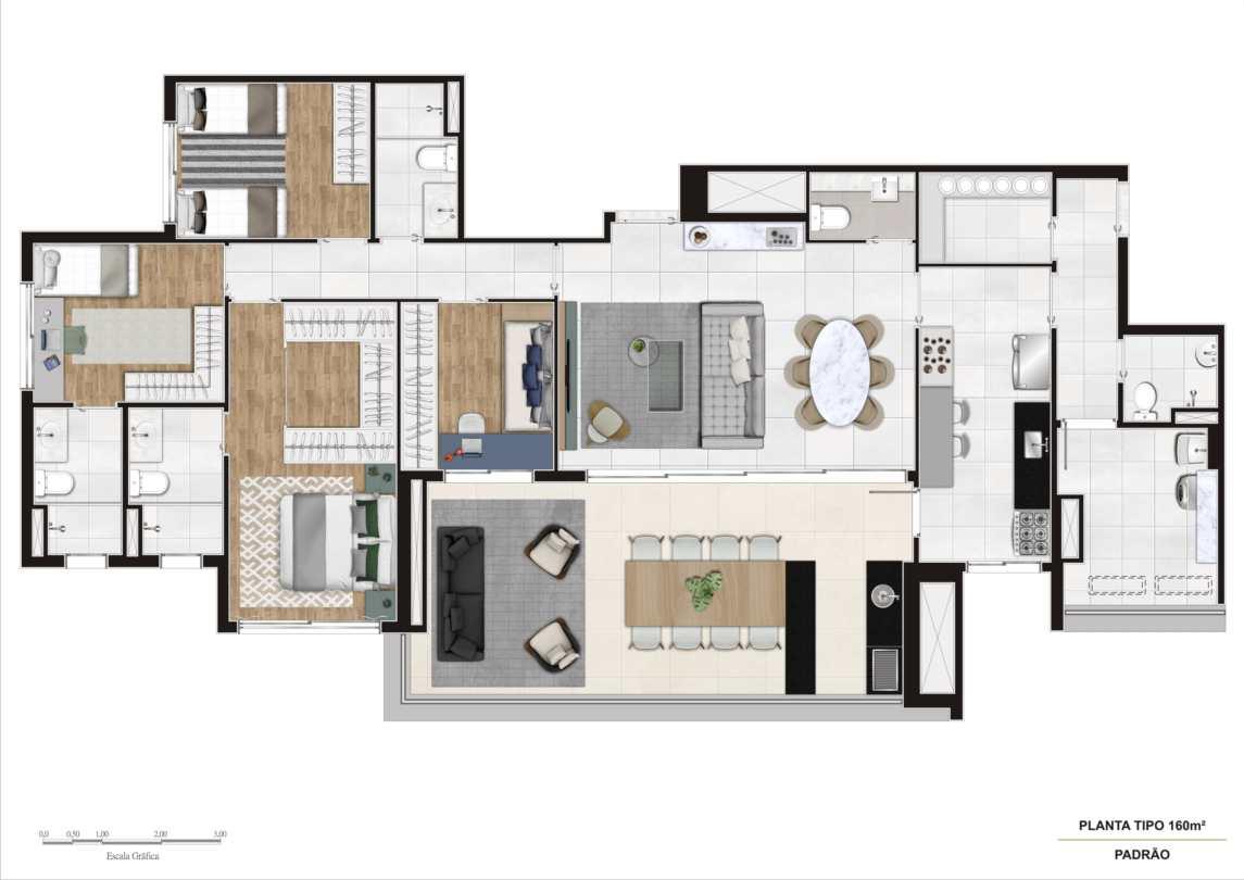 Apartamento com 4 dorms, Ipiranga, São Paulo - R$ 1.63 mi, Cod: 62