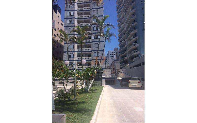Apartamento frente para o mar em Praia Grande - Vila Tupi