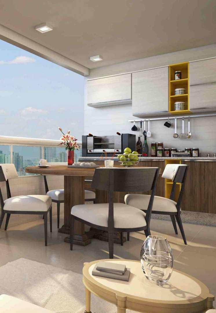Apartamento com 2 dorms, Caiçara, Praia Grande - R$ 498 mil, Cod: 2421