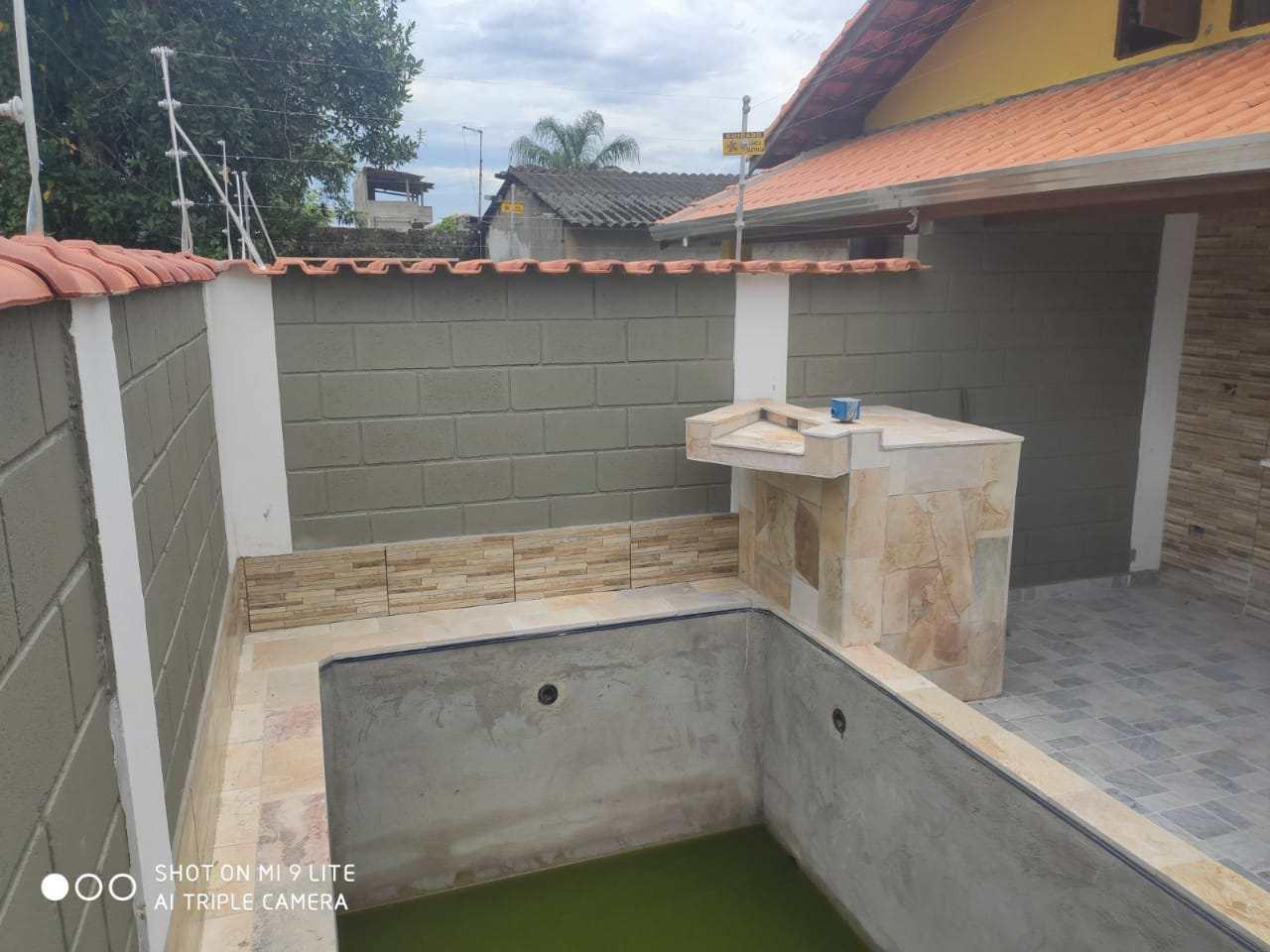 Casa com 2 dorms, Nova Itanhaém, Itanhaém - R$ 240 mil, Cod: 91