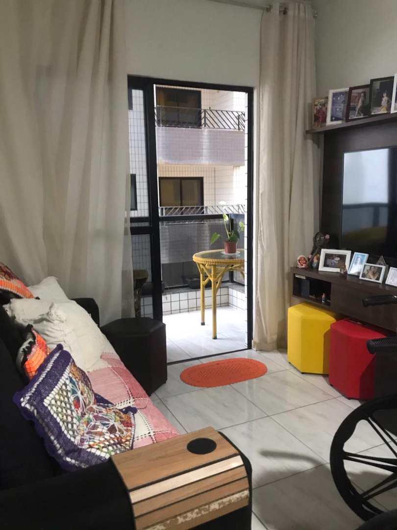 Apartamento com 2 dorms, Centro, Mongaguá - R$ 350 mil, Cod: 134