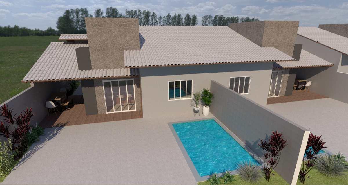 Casa com 2 dorms, Jardim S Fernando, Itanhaém - R$ 289 mil, Cod: 161