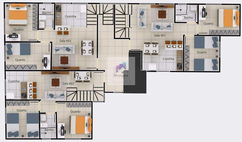 Apartamento em Contagem bairro Xangri-Lá