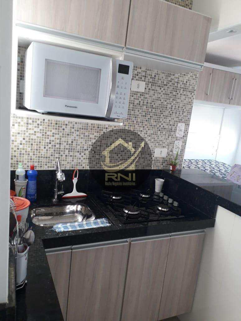 Kitnet com 1 dormitório à venda, 39 m² por R$ 230.000,00 - Aparecida - Santos/SP