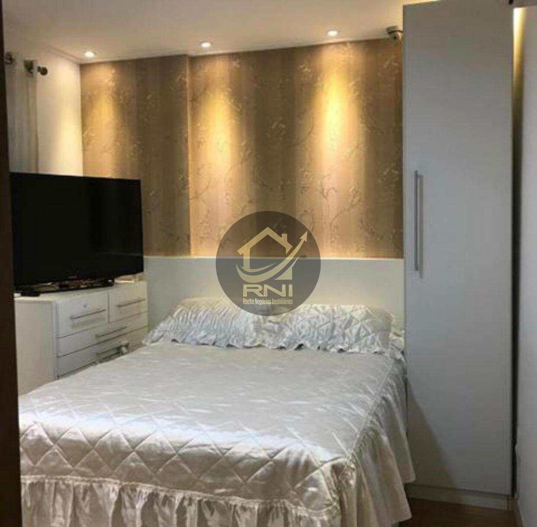 Apartamento Duplex com 3 dormitórios à venda, 90 m² por R$ 690.000,00 - Gonzaga - Santos/SP