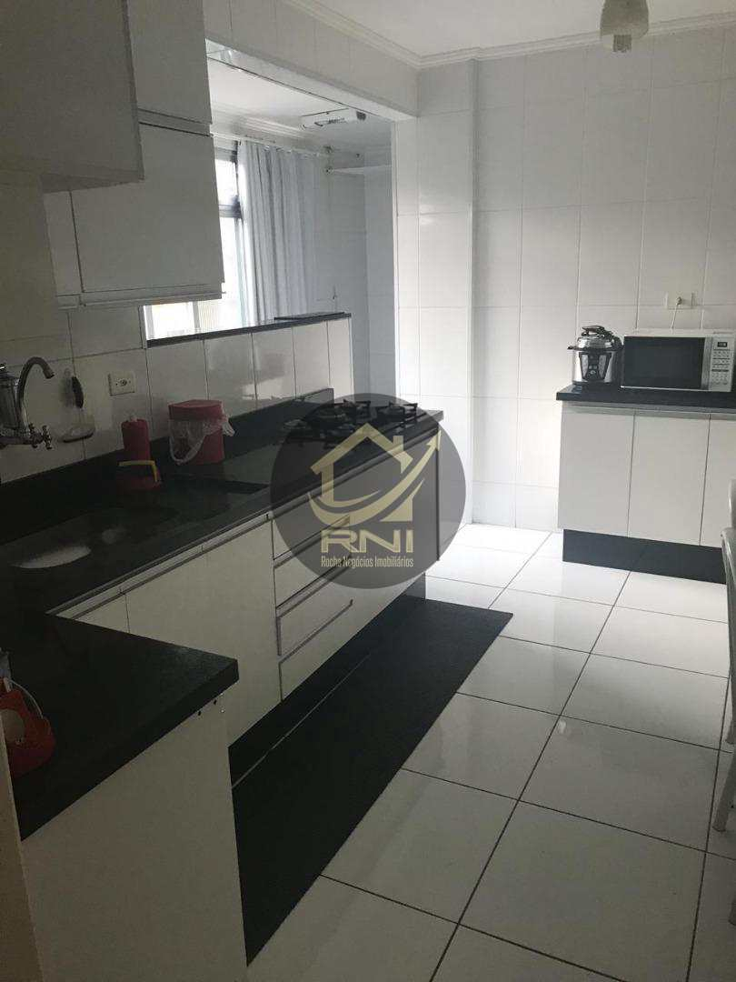 Apartamento com 3 dormitórios à venda, 100 m² por R$ 450.000,00 - Campo Grande - Santos/SP